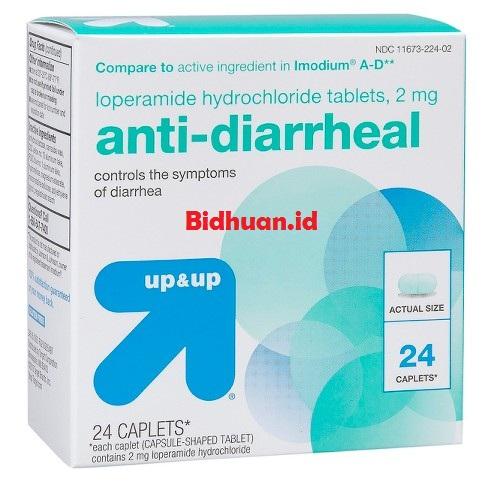 Obat mencret menggunakan Loperamide