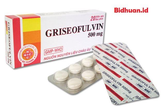 Obat panu menggunakan Griseofulvin