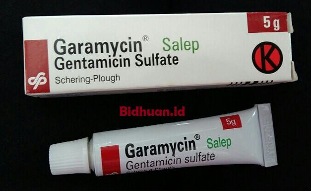 Obat pengering luka denganSalep Garamycin