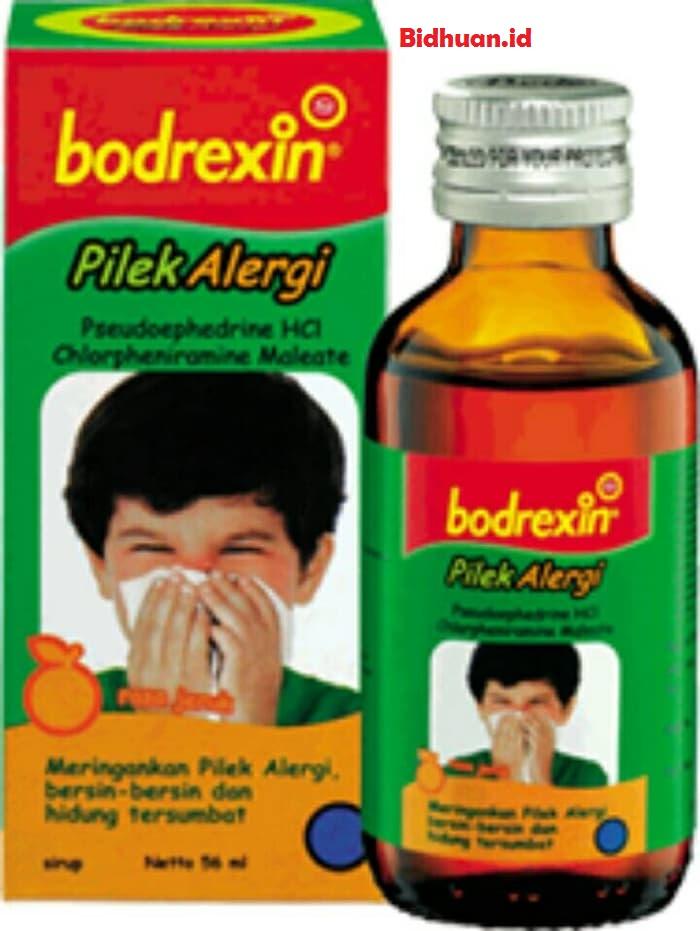 Obat pilek anak menggunakan Bodrexin pilek