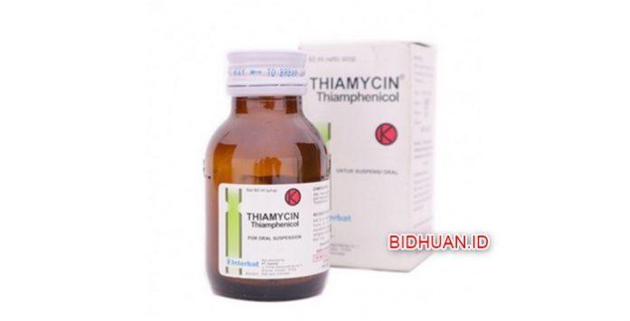 Thiamycin - Pengertian Manfaat Komposisi Kontraindikasi Efek Samping dan Dosis