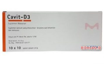 Cavit D3 Suplemen - 3 Kegunaan Utama Suplemen Vitamin ini