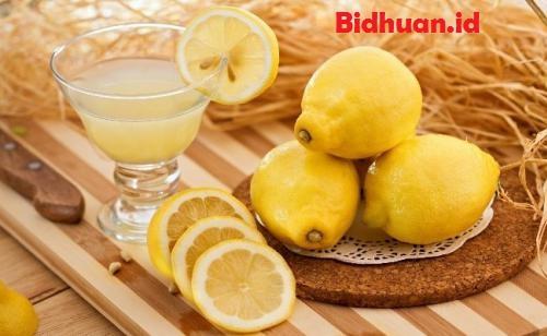 Cara membuat maskerberas dengan lemon