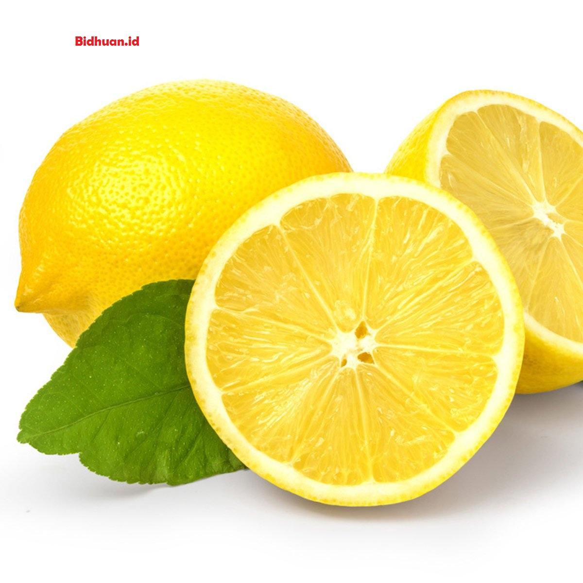 Cara membuat masker wajah alami dengan lemon