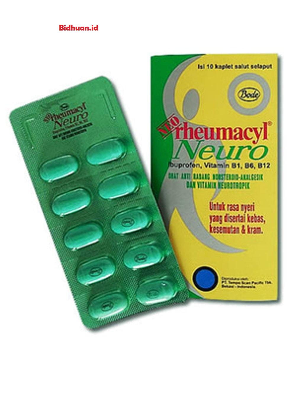 Obat sakit pinggang di apotek yaitu Neo Rheumacyl Neuro