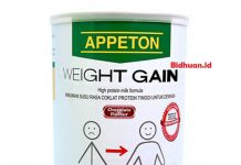 Susu penggemuk badan Appeton Weight Gain Adult
