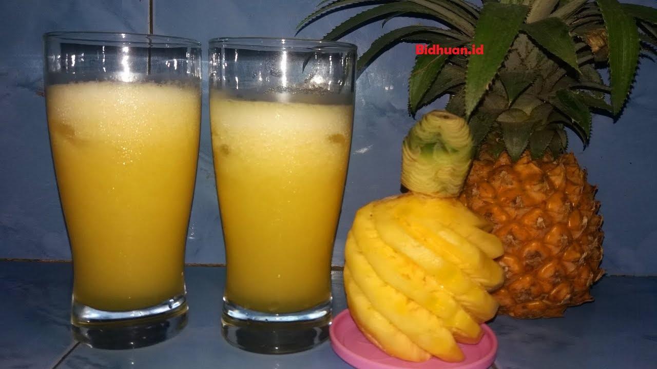 Minuman pencegah kehamilan yaitu jus nanas