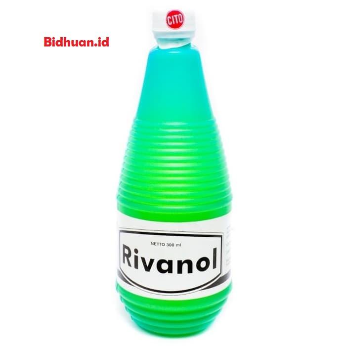 Obat luka bernanah yaitu Rivanol 300 Ml CITO