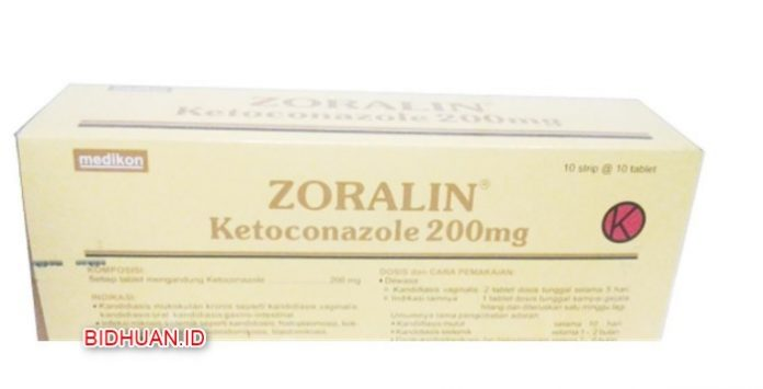 Obat panu di apotek Zoralin Tablet