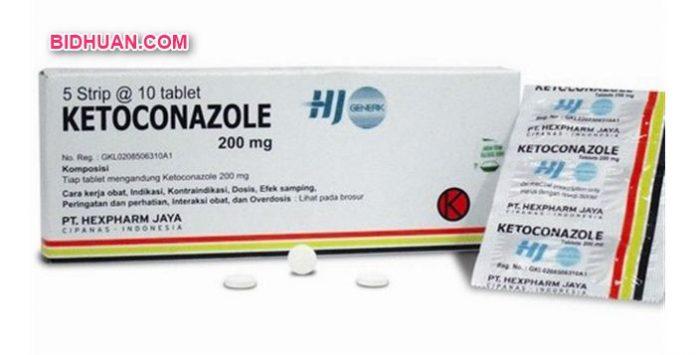 Obat panu di apotek yaitu Ketoconazol