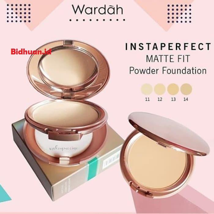 Wardah Instaperfect Matte Fit Powder Foundation untuk kulit berminyak