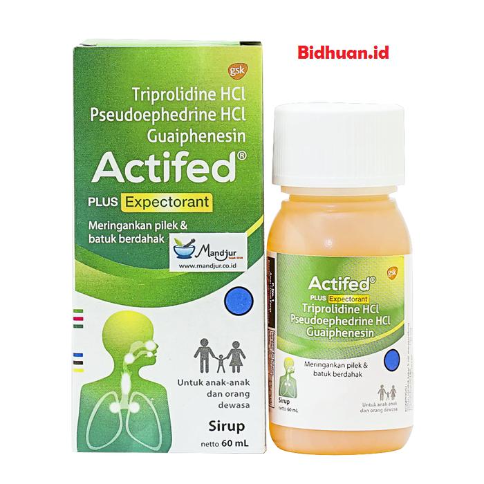 Actifed sebagai obat batuk pilek anak