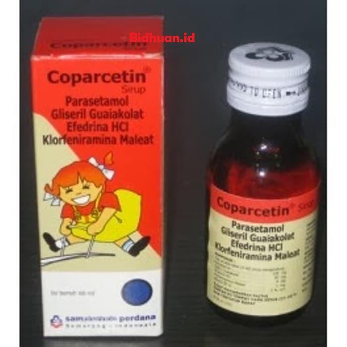 Coparcetin sebagai obat batuk pilek anak di apotek