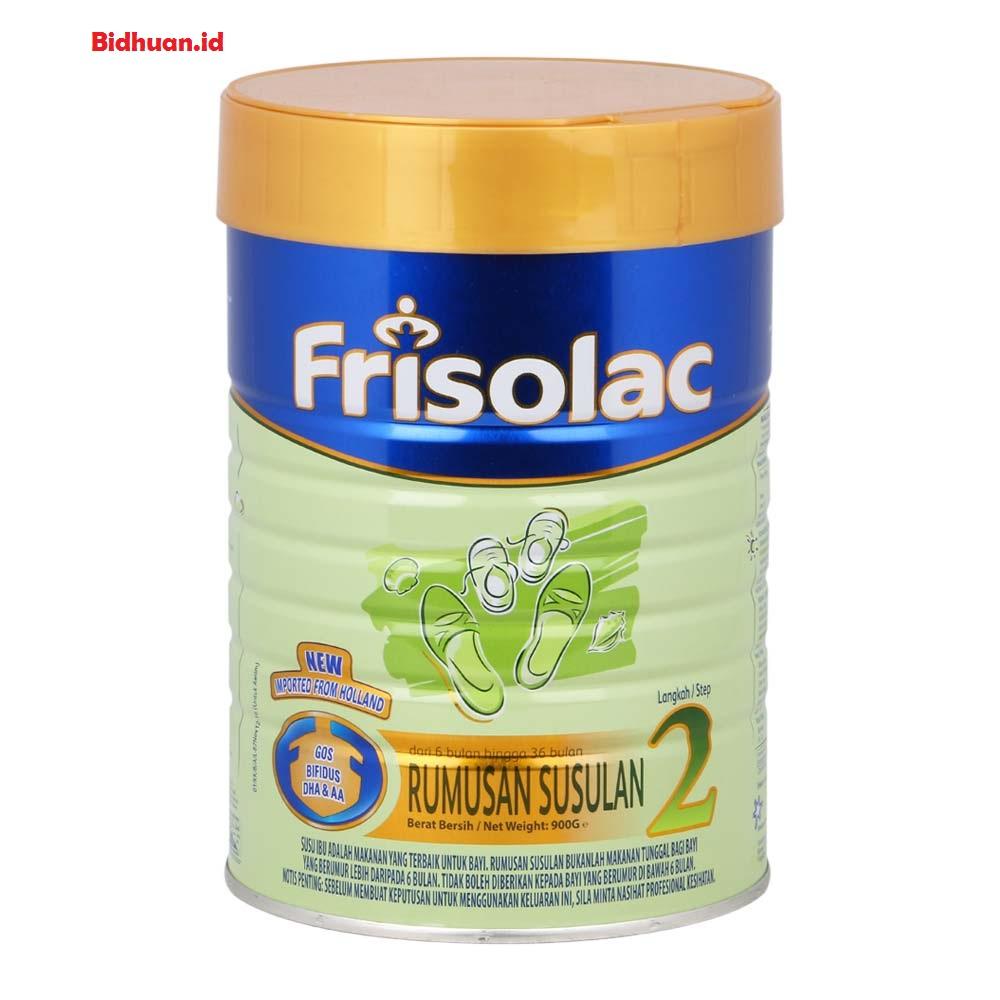 Frisolac Gold tahap 2 sebagai susu penggemuk badan bayi 6 sampai 12 bulan