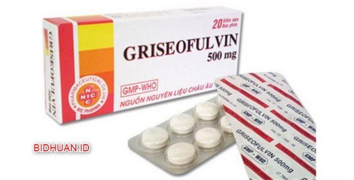 Griseofulvin sebagai obat panu tablet paling bagus