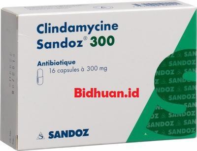 Obat bisul paling mujarab yaitu Clindamycin