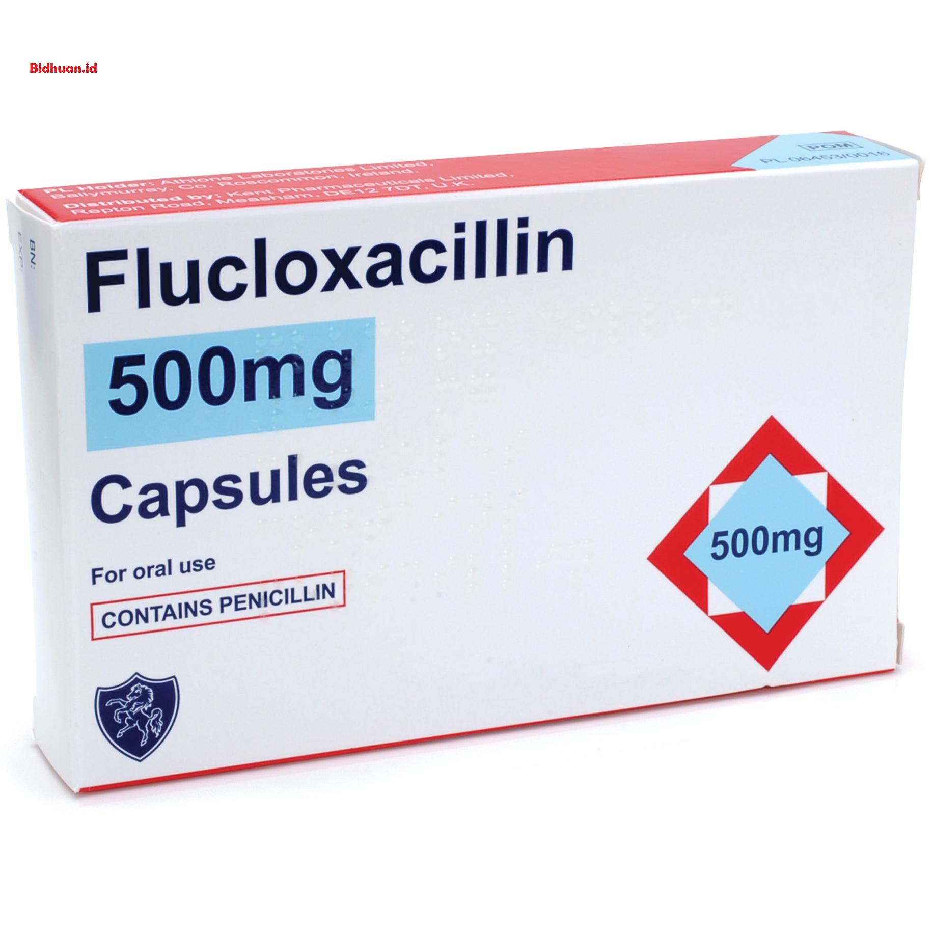 Flucloxacillin untuk pengobatan bisul paling efektif