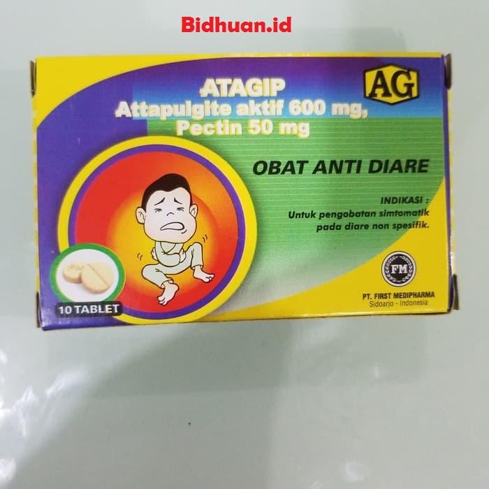 Atagip sebagai obat mencret ampuh