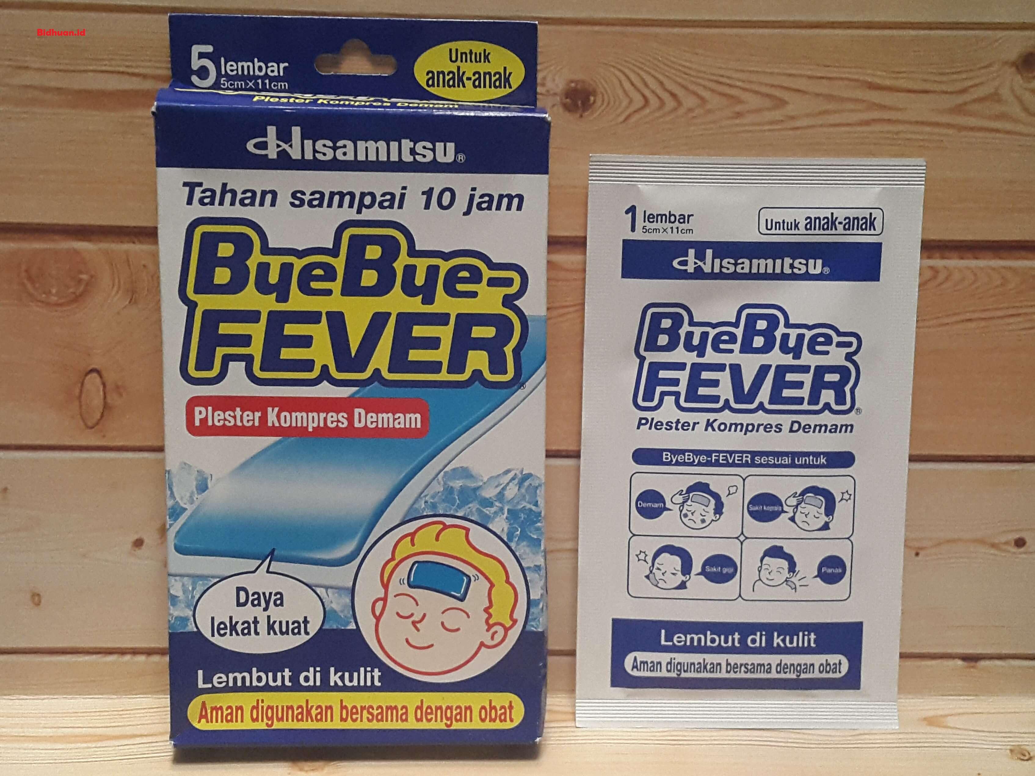 Obat penurun panas untuk anak yang bagus