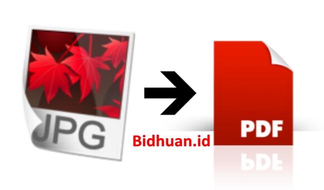Cara Mengubah Foto ke PDF dengan Cara Online