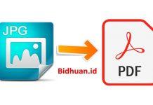 cara mengubah foto ke PDF