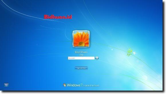 cara reset password windows 7