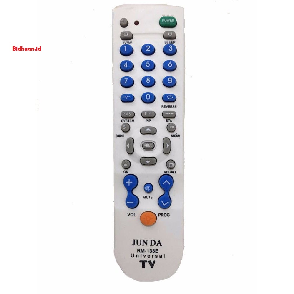 cara setting remote tv universal