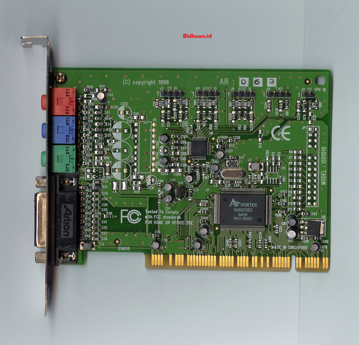 fungsi sound card
