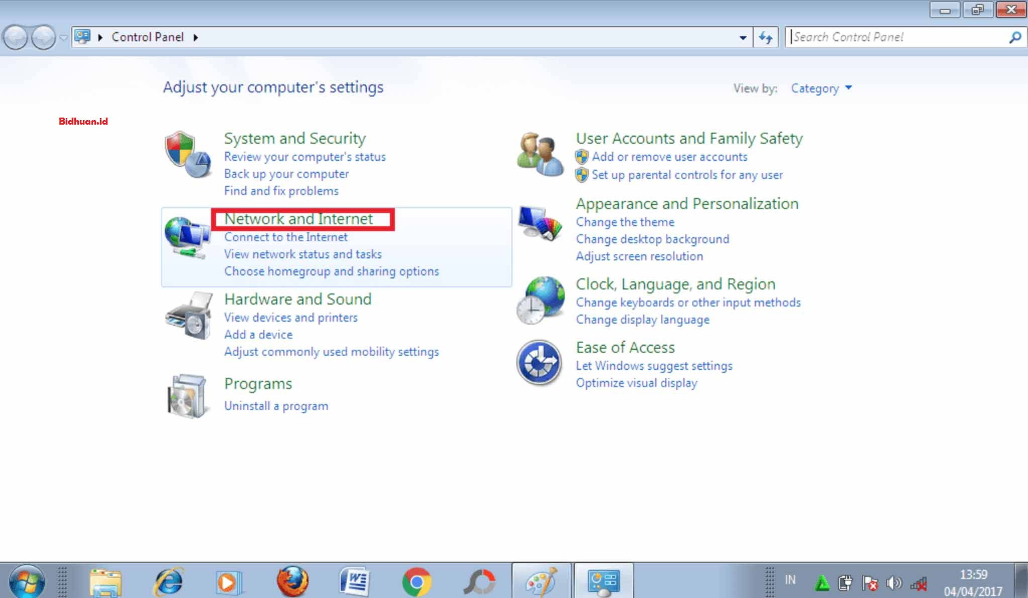 cara melihat password Wi-Fi di komputer windows 10