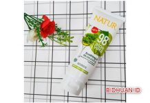 Natur Shooting & Moisturizing Aloe Vera si Sleeping Mask Dengan Hasil Glowing