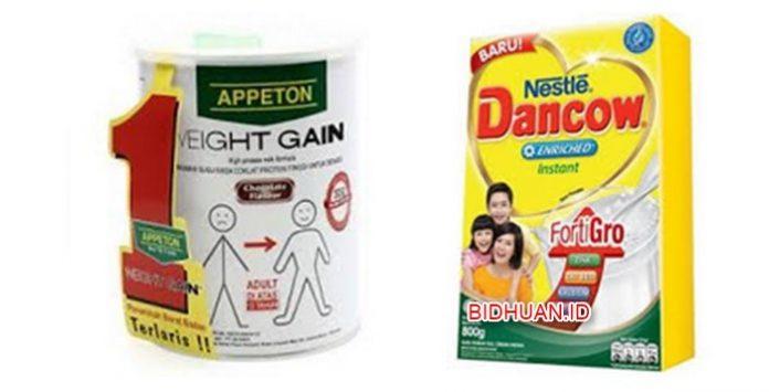 5 Merk Susu Penggemuk Badan Terbaik