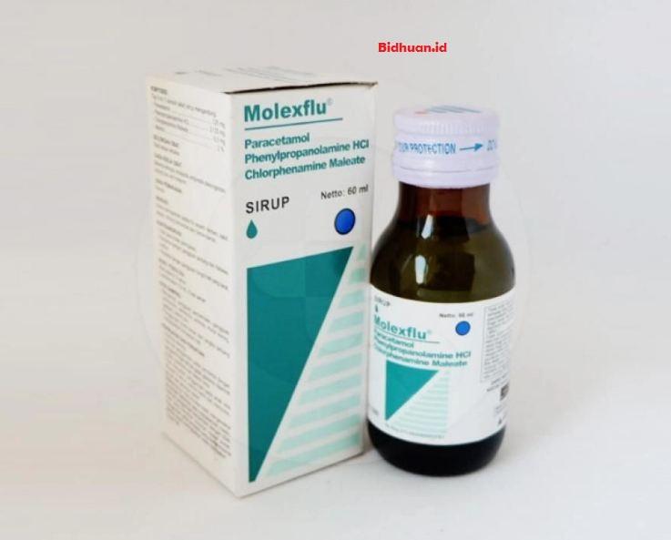 Efek Samping Molexflu Sirup