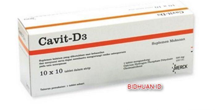 Manfaat Mengkonsumsi Cavit D3