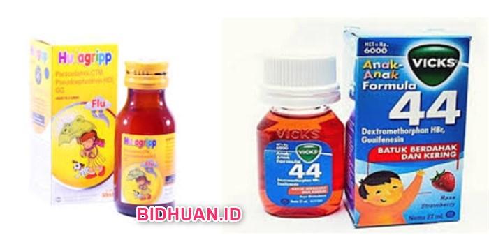 Nama Obat Batuk Pilek Anak Herbal dan Medis dan Harganya