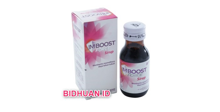 Manfaat Penggunaan Imboost Force Syrup
